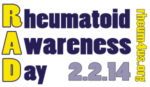 Rheumatoid Awareness Day - February 2, 2014