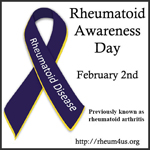 FIRST AWARENESS DAY FOR RHEUMATOID ARTHRITIS ESTABLISHED BY RHEUMATOID PATIENT FOUNDATION