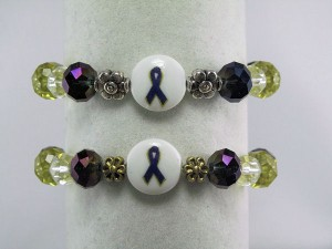 Rheumatoid Arthritis awareness bracelet