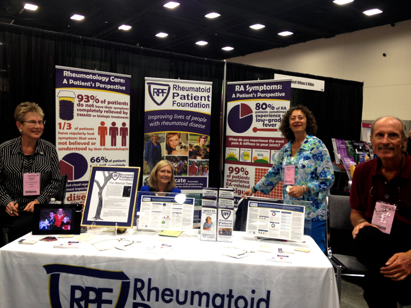 Rheumatoid Patient Foundation at the American College of Rheumatology Annual Meeting