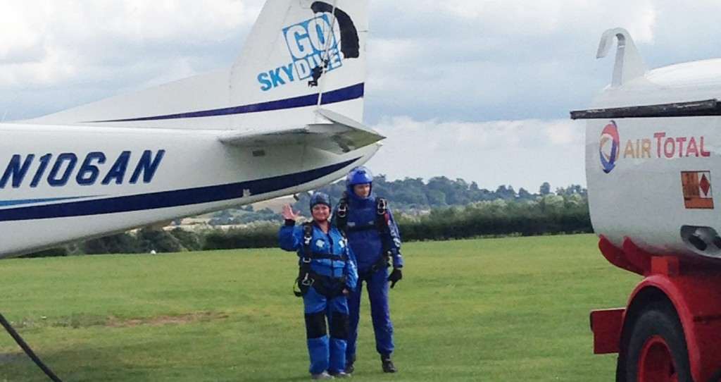 Skydive fundraiser for the Rheumatoid Patient Foundation