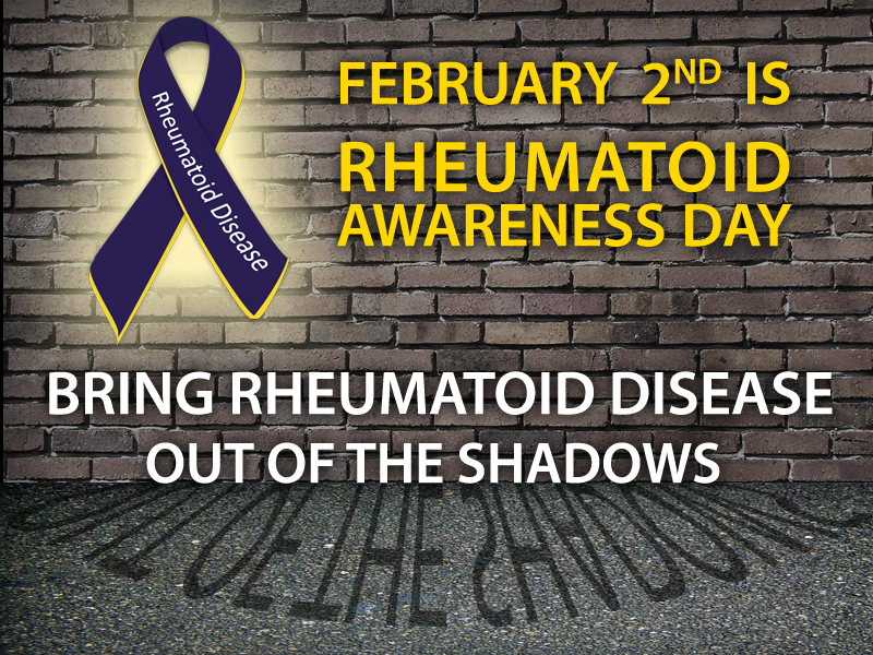 Rheumatoid Arthritis Awareness Day February 2nd