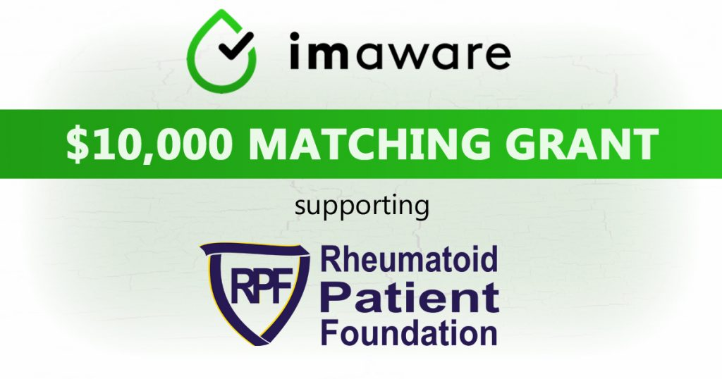 Double Your Dollars with a $10,000 Matching Grant from imaware™